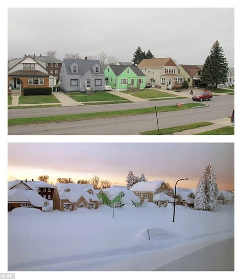 christmas in buffalo ny pictures 116 year record for snowfall is broken in buffalo new york daily mail