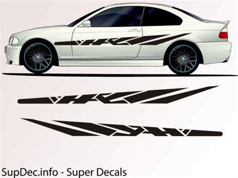 Auto Body Decals by Vinyl Auto Body Graphics Exterior Outside Decal Sticker B703