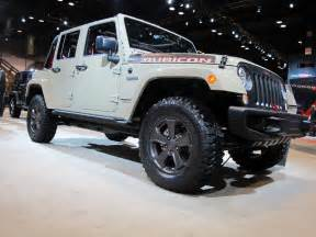 Jeep Rubiccon Jeep Builds Its Most Capable Wrangler Car News