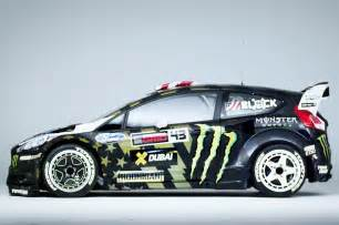 ken block s ford st rx43 teased ahead of gymkhana 8