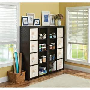 room organizer better homes and gardens 16 cube organizer and room divider colors walmart