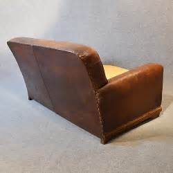 antique leather loveseat sofa vintage leather antique 2 seater club settee