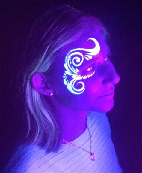 glow in the paint designs the 25 best neon paint ideas on glow