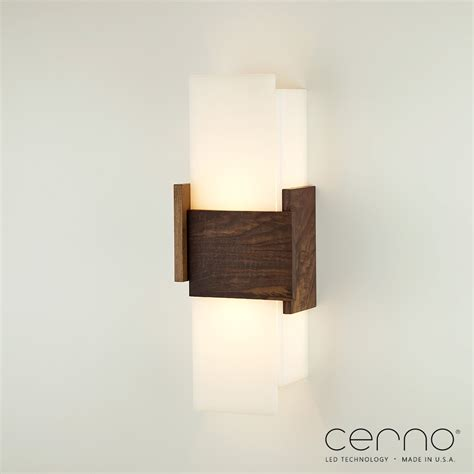 Led Wall Sconce Cerno Acuo Led Wall Sconce Commerciallightingsupplier