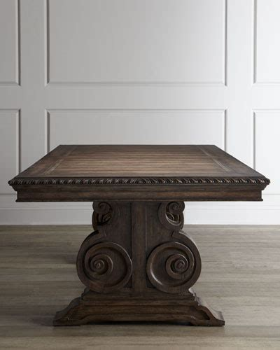 Mk Donabella luxury dining tables at neiman