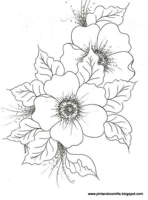coloring page of dogwood flowers dogwood flower coloring pages sketch coloring page