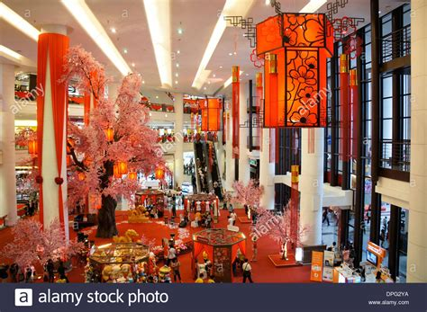 new year decoration shopping mall new year decoration of shopping mall in malaysia