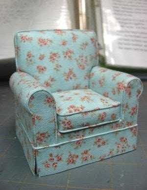 how to upholster an armchair miniatures furniture tutorials on pinterest dollhouse