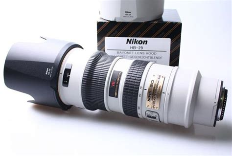 Lensa White Nikon did you nikon shooters can buy quot white quot lenses