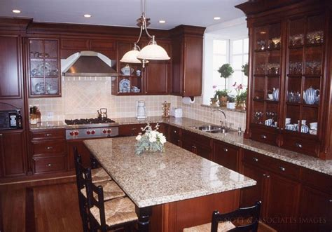 Cherry Wood Kitchen Island by 25 Best Ideas About Cherry Wood Kitchens On Pinterest