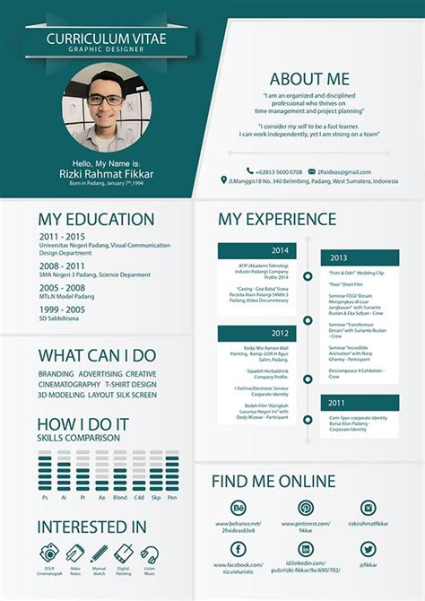 creative curriculum vitae sles 7 best design cv images on pinterest cv design
