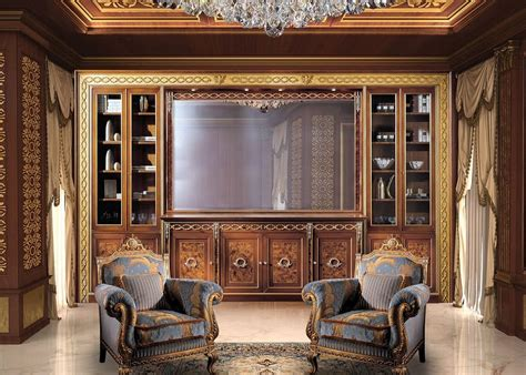 librerie classiche di lusso libreria classica di lusso idfdesign