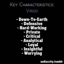 virgo key characteristics virgo pinterest