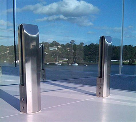 banister clips banister clips frameless windscreen cl glass panel railing deck