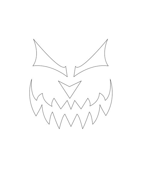 evil pumpkin template evil pumpkin stencil www imgkid the image kid