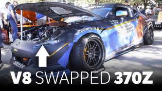 sema 2007 new drift cars this nascar v8 swapped 370z is the coolest drift car at sema