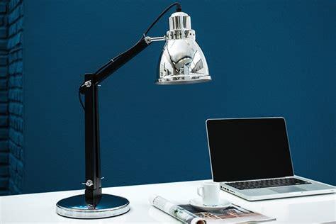 Tischleuchte Industrial by Moderne Tischle Industrial Chrom Schwarz 60 Cm Riess