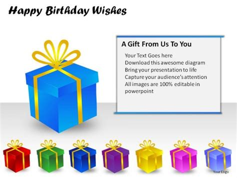 Birthday Greetings Ppt Presentation Happy Birthday Powerpoint Presentation