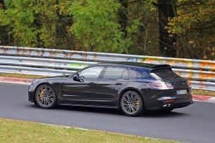 Porsche Station Wagon 2018 Porsche Panamera Sport Turismo Wagon Spotted With
