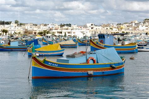 maltese boat traditional maltese fishing boats in marsaxlokk