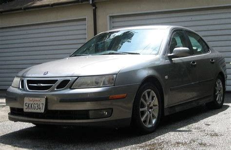 sell used 2003 saab 9 3 linear automatic sedan no reserve in los angeles california united states