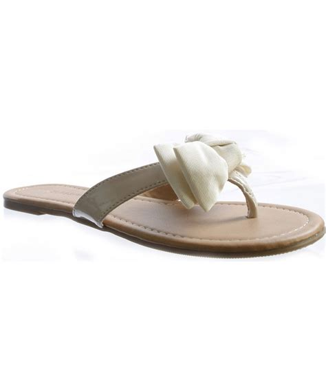 sandals with a bow city classified salus sandals with bow accent