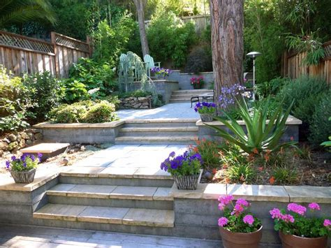 Terraced Backyard Landscaping Ideas Terraced Garden Designs Terraces Architecture Amazing