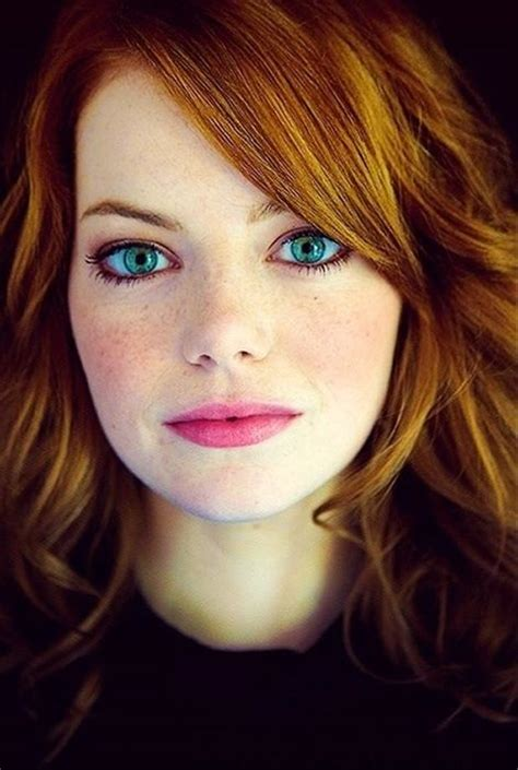 young actresses with red hair and green eyes emma stone red hair and beautiful eyes dump a day