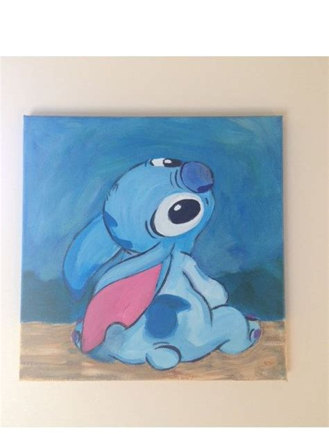 stitches painting lilo stitch disney painting children s decor