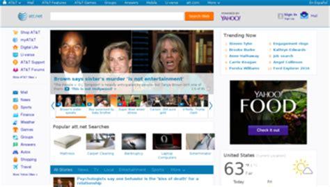 Att Yahoo Home Page by Att Yahoo Website Review For Att Yahoo