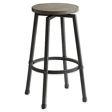 Adjustable Bar Stools Bed Bath And Beyond by Modern Farmhouse Adjustable Bar Stool In Grey Bed Bath