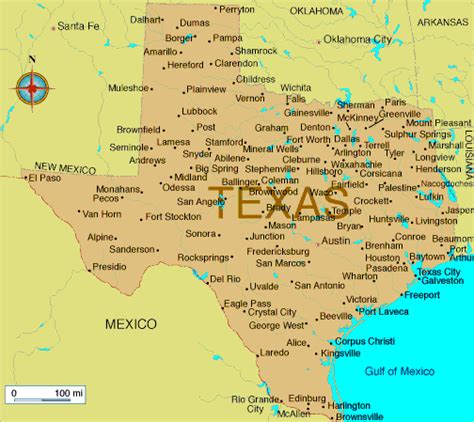 texas mileage map texas map distance between cities pictures to pin on pinsdaddy