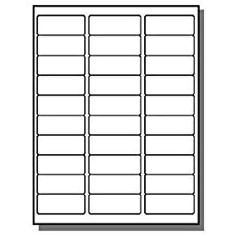 Avery 8160 Address Label Template by Avery 5160 8160 Compatible 100 White Sheets 3 000 Address