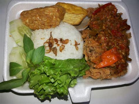 Paket Ayam paket ayam geprek nasi ayam geprek tahu tempe sambal