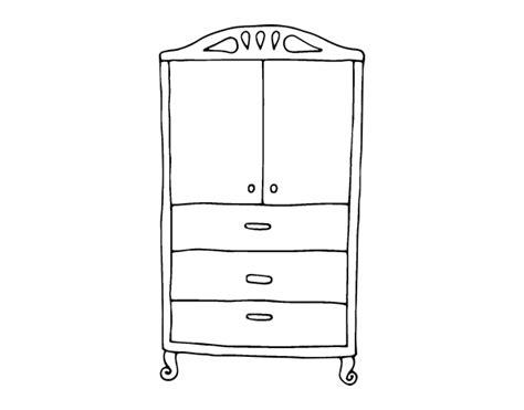 désodorisant pour armoire coloriage de armoire pour les v 234 tements pour colorier