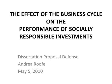 Presentation For Dissertation Proposal Defense Powerpoint For Dissertation Defense