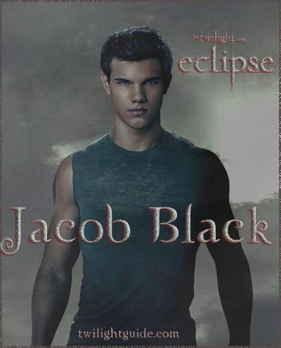 jacob black eclipse twilight guide