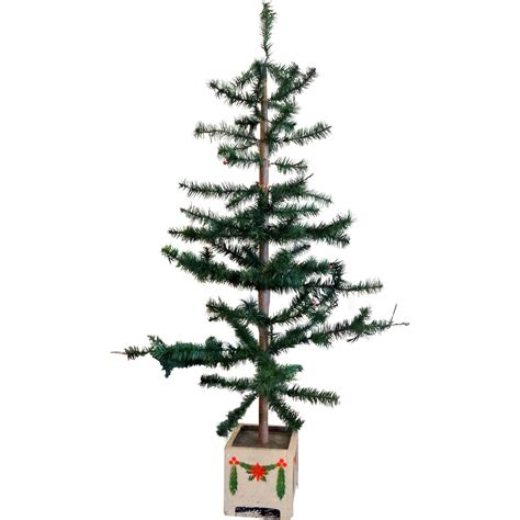 victorian 44 quot high german feather christmas tree from mur