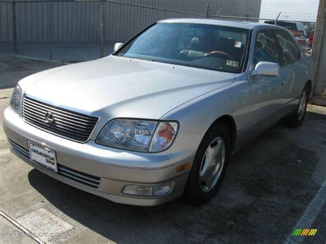 silver lexus 2000 alpine silver metallic lexus ls 400 21776004