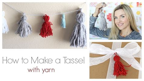 How To Make A by How To Make A Tassel With Yarn