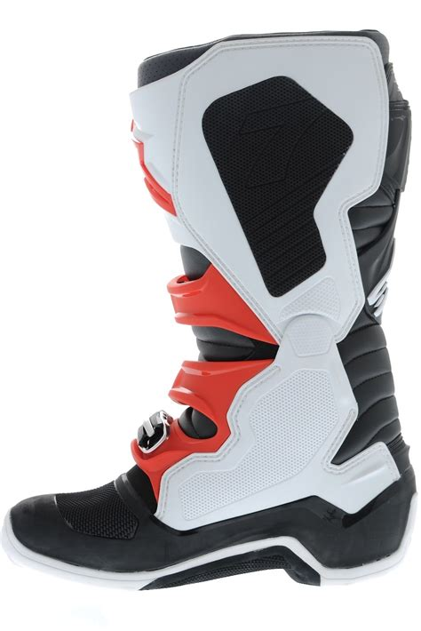 dirt bike boots ebay alpinestars new 2017 mx tech 7 dirt bike white black