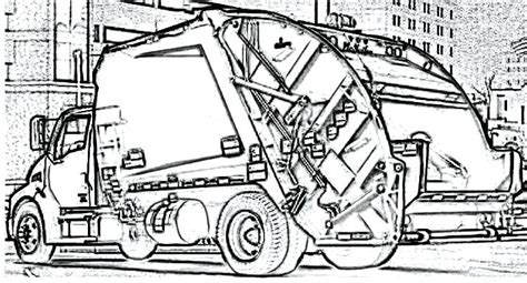 Coloring Page Garbage Truck by 50 Best Images About Cars Coloring Pages On