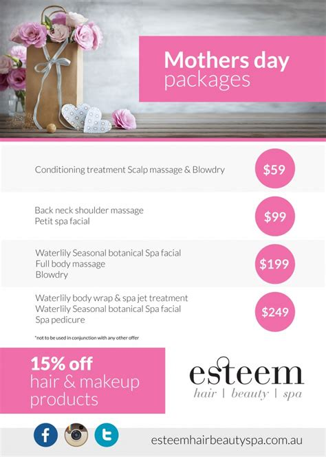 mothers day gifts packages  penrith