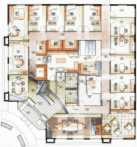 law office floor plan conceptual house plans