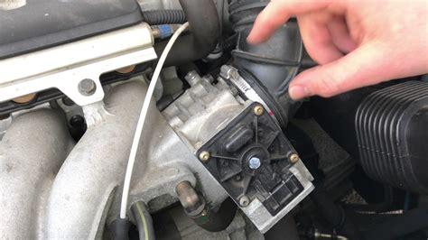 clean  throttle body valve volvo  clean