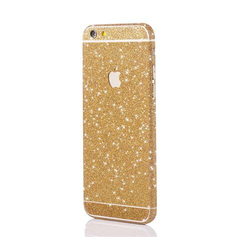Glitzerfolie Gold apple iphone magic gold glitzerfolie f 252 r apple iphone 5 6 7