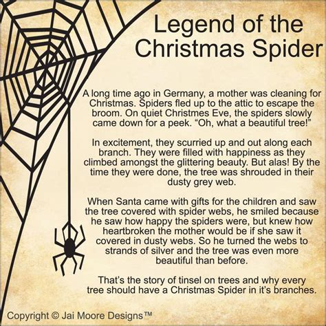 legend of the christmas spider for anyone who has seen
