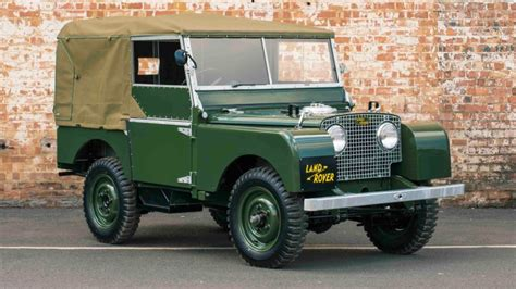 land rover canberra land rover to create new series 1 vehicles roverworks