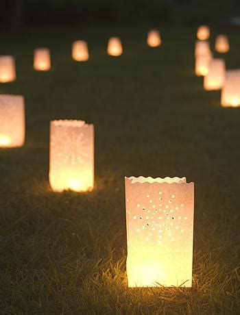 paper bag tea lights outdoor lighting velvet palette
