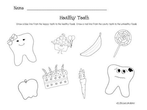 Dental Health Worksheets by Hygiene For Preschoolers Worksheets Tooth Worksheet